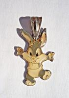 Warner Bros ezüst nyuszis medál