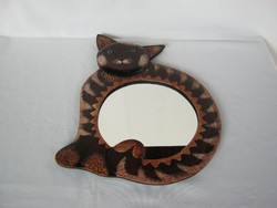 Cica macska tükör