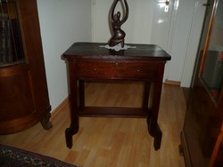 Különleges antik eredeti Art Deco  zsúrasztal / asztalka / asztal 1930-as évekből