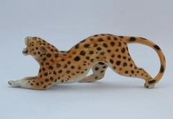 Volkstedt leopárd figura