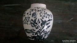 XIX.sz-i teafűtartó fajansz, porcelán edény.
