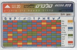 Külföldi telefonkártya 0324 (Izrael)