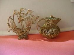 100% kézzel készült indiai ötvös munka mely igen finoman és aprólékosan megmunkált darabok