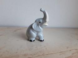 Aquincum porcelán elefánt, gyönyörű állapotban