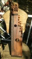Eladó antik citera,kézzel készített népi hangszer
