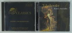 0T449 Pjotr Iljics Csajkovszkij CD 2 db