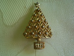 Karácsonyfa kitűző