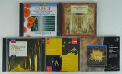 0T447 Johann Sebastian Bach CD zene csomag 7 db