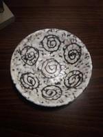 Retro kerámia tányér