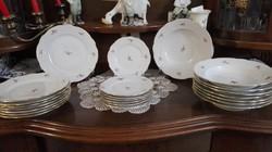 Zsolnay 8 személyes tányérkészlet