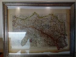 Régi térkép új keretben