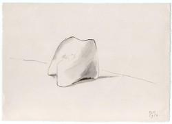 Borsos Miklós -19 x 27 cm tus, papír