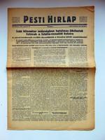 1944 március 14  /  Pesti Hirlap 4. Kiadás  /  SZÜLETÉSNAPRA RÉGI EREDETI ÚJSÁG Szs.:  7582