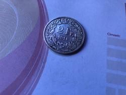 1916 ezüst 2 frank 10 gramm 0,835 Ritka!!!