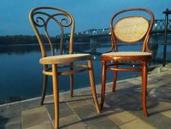 Kohn és Thonet szék.