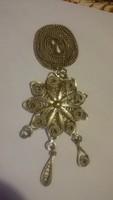 Antik ezüst színű medál különleges