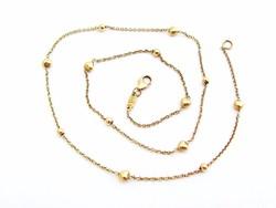 Arany nyaklánc  (Szeg-Au85)