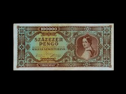 SZÁZEZER PENGŐ - 1945 - INFLÁCIÓS BANKJEGY