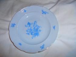 Meisseni porcelán tányér
