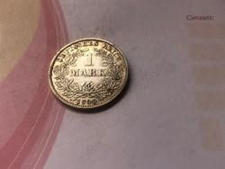 """1900""""E"""" ezüst 1 márka,ritka!!!!!"""