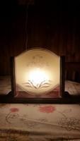 Retro különleges asztali lámpa eladó! Nagyon szép!