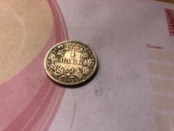 """1902""""F"""" ezüst 1 márka,ritkább"""