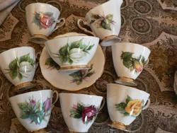 Royal Standard fine bone china angol teás készlet rózsás
