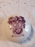 Alföldi porcelán nagy bonbonier