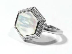 Ezüst gyűrű(Kecs-Ag72412)