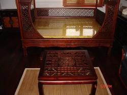 Csodálatos keleti, kínai faragott asztal!