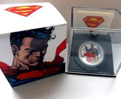 2013 Kanada 20$ Man of Steel - Superman - 1 uncia tiszta ezüst színez - Proof (tükörveretes) kivitel