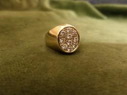 Brilles arany kisujj gyűrű