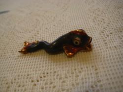 Ó-Herendi  miniatúra , harcsa ,régi jelzéssel