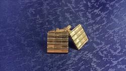 Nagy méretű négyzet alakú mandzsettagomb 015