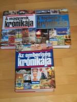 Officina Nova krónika sorozat 3 db.