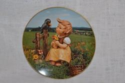 Hummel fali tányér 05  ( DBZ 0060 )