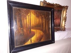 Markovits Jenő olaj  festmény