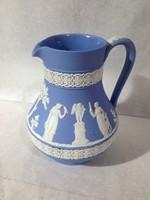 Angol wedgwood ( blue jasperware) kancsó vagy váza.