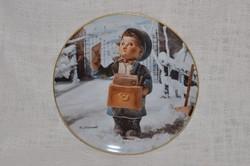 Hummel fali tányér 07  ( DBZ 0060 )