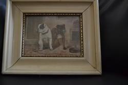 Két francia Bulldog-Kienböck