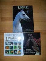Könyvtár felszámolás -  Lovas könyvek