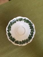KPM zöldleveles teáskészlet