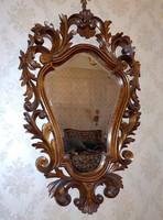 Dúsan faragott florentin tükör
