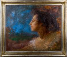 Karlovszky Bertalan: Női portré