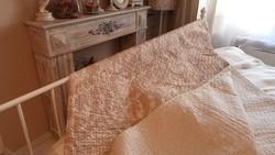 ÚJ! Steppelt nagy méretű barokk / csíkos mintás ágytakaró 220x200cm