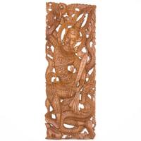 Keleti szent áttört fafaragás, falidísz, falikép – 90x35cm