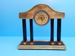 Mini kandalló óra  1930 körül, kifogástalanul működik