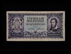 10 000 000 MILPENGŐ - SZÉP BANKJEGY 1946