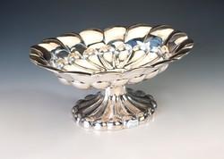Ezüst art deco asztalközép / kínáló
