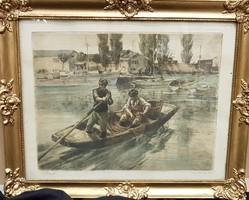 Udvary Pál: Siófoki kikötő